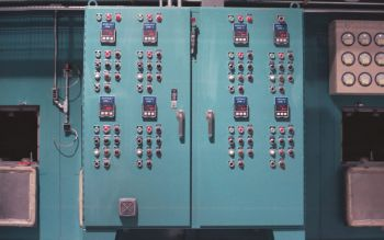 a flotation dryer control panel