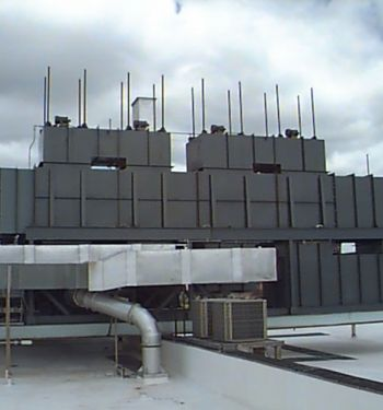 Recuperative Thermal Oxidizer Rear View